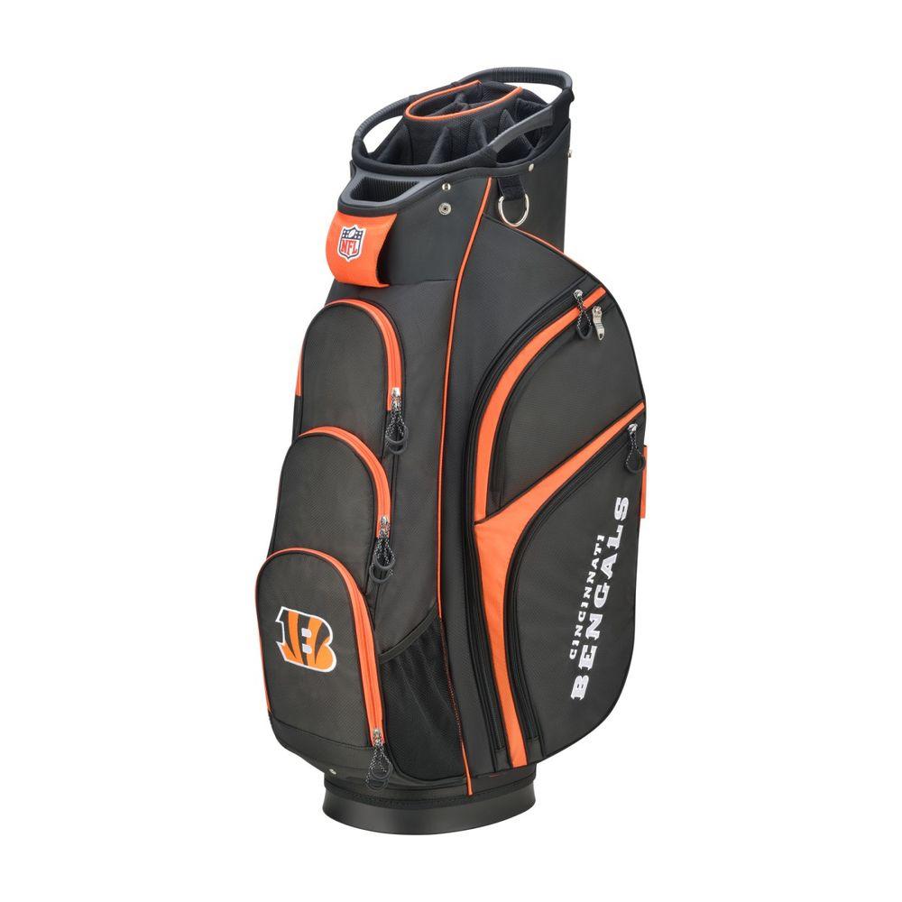 ウィルソン Wilson ユニセックス ゴルフ【Cincinnati Bengals Cart Golf Bag】Black