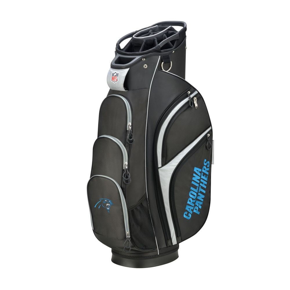 ウィルソン Wilson ユニセックス ゴルフ【Carolina Panthers Cart Golf Bag】Black