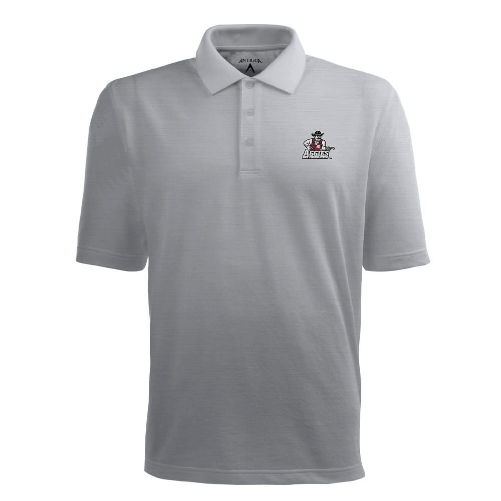 アンティグア Antigua メンズ トップス ポロシャツ【New Mexico State Aggies Pique Xtra Lite Polo】Heather Grey