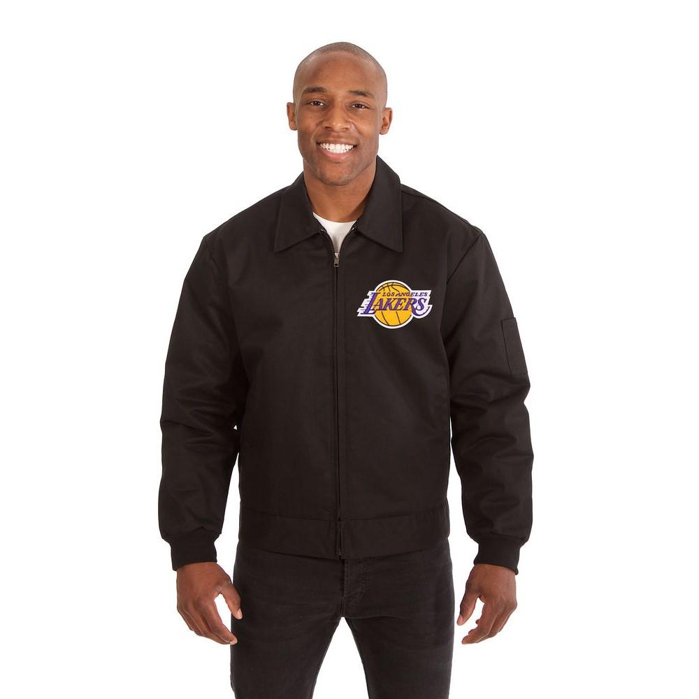 JH デザイン JH Design メンズ アウター ジャケット【Los Angeles Lakers Adult Workwear Jacket】Black