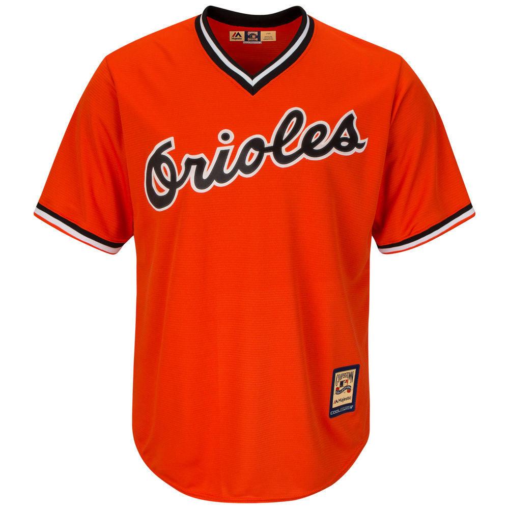 マジェスティック Majestic メンズ トップス【Baltimore Orioles Adult Cool Base Replica Jersey】Orange