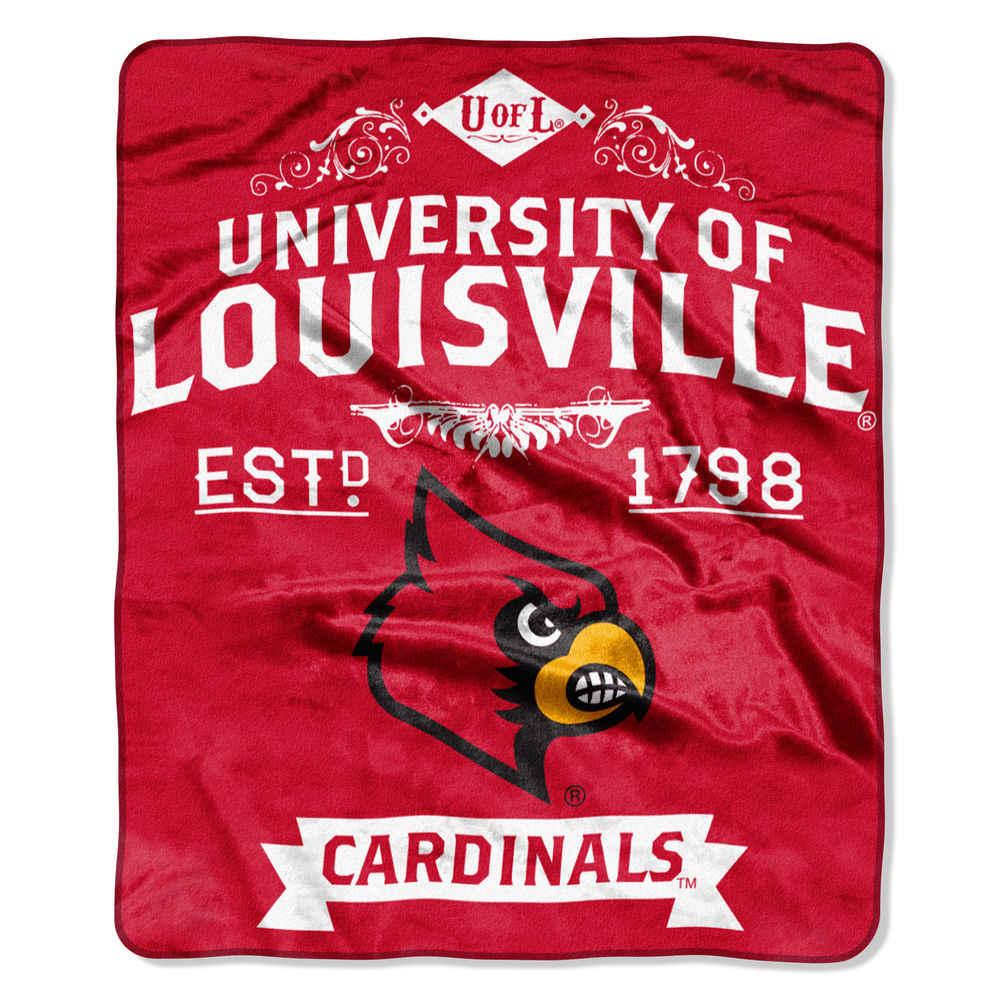 ノースウエスト Northwest ユニセックス マフラー・スカーフ・ストール【Louisville Cardinals Label Raschel Throw】