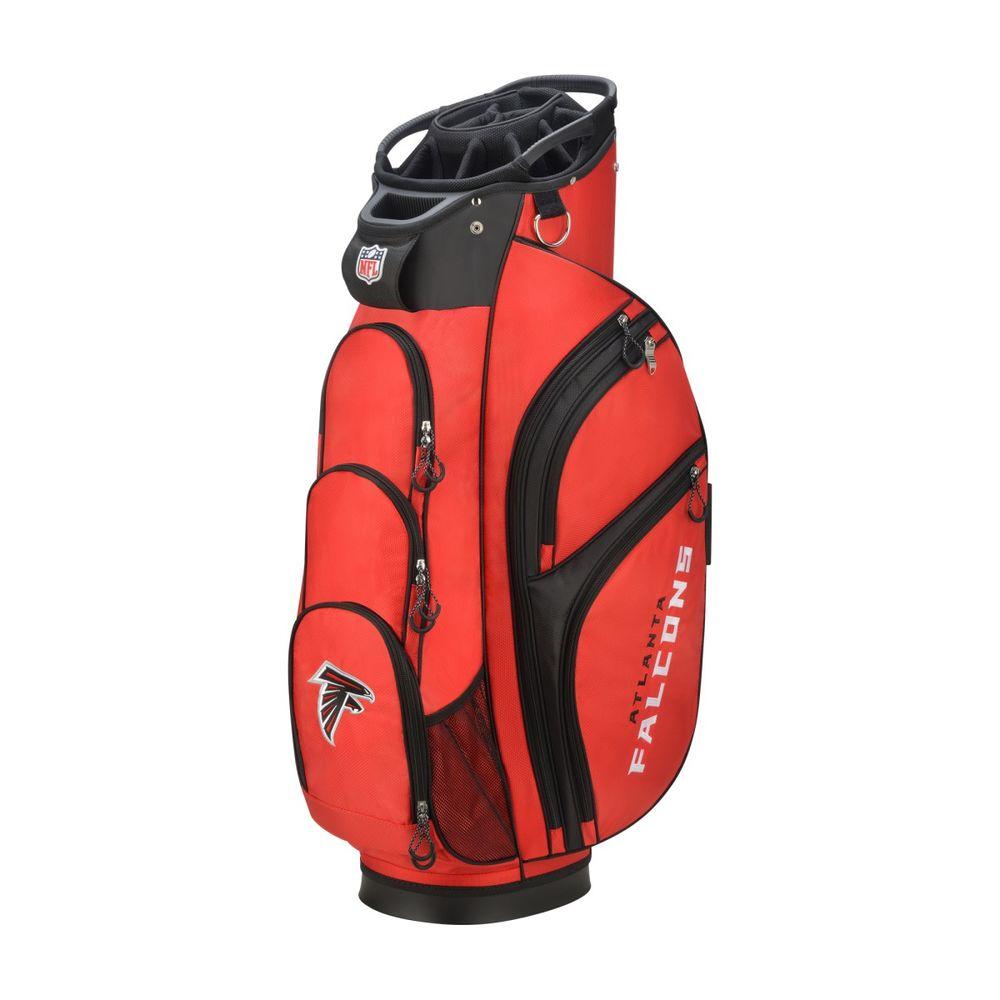 ウィルソン Wilson ユニセックス ゴルフ【Atlanta Falcons Cart Golf Bag】Red