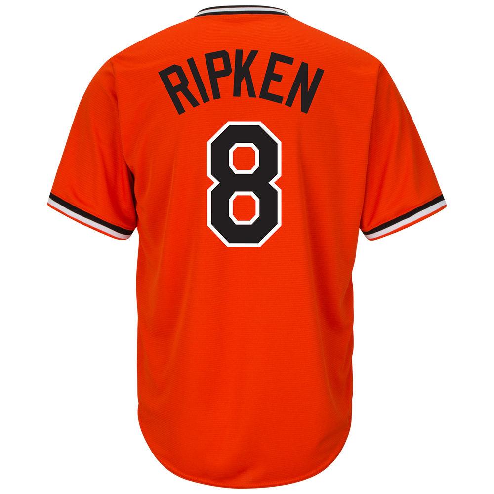 マジェスティック Majestic メンズ トップス【Baltimore Orioles Cal Ripken Jr Adult Cool Base Replica Jersey】Orange