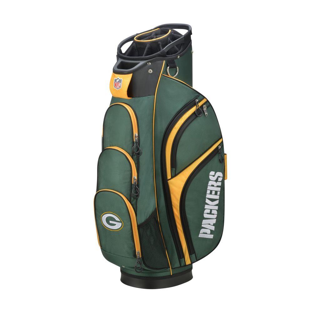 ウィルソン Wilson ユニセックス ゴルフ【Green Bay Packers Cart Golf Bag】Green