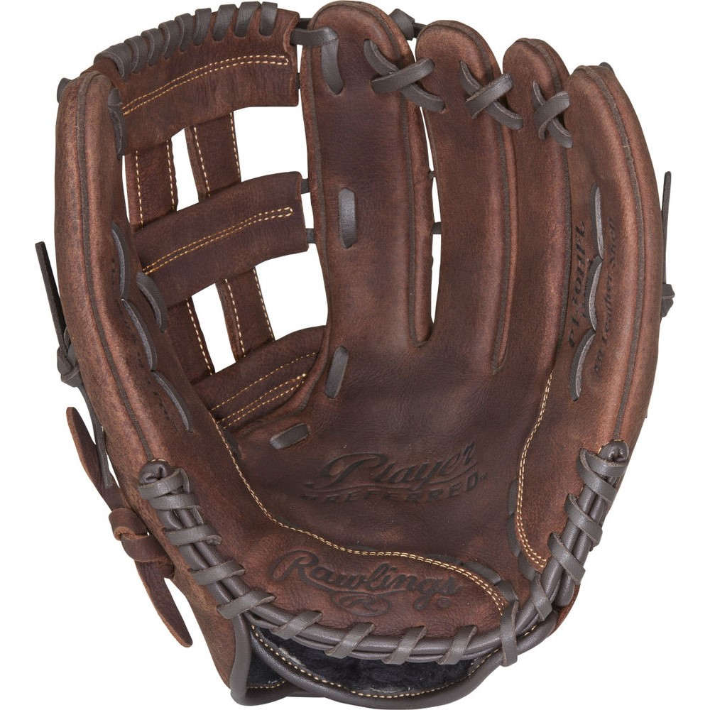 ローリングス ユニセックス 野球 グローブ Brown 【サイズ交換無料】 ローリングス Rawlings ユニセックス 野球 グローブ【Player Preferred 13 Inch Right Hand Throw Softball Glove】Brown