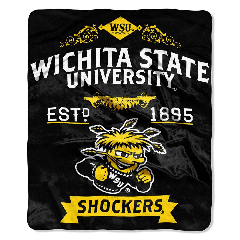 ノースウエスト Northwest ユニセックス マフラー・スカーフ・ストール【Wichita State Shockers Label Raschel Throw】