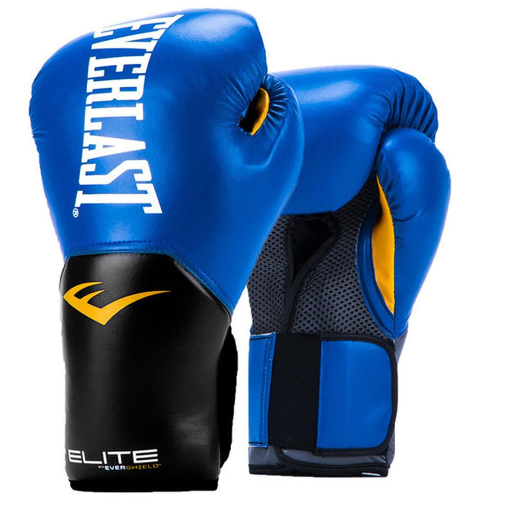 エバーラスト Everlast ユニセックス グローブ【Pro Style 14oz Boxing Gloves】Blue