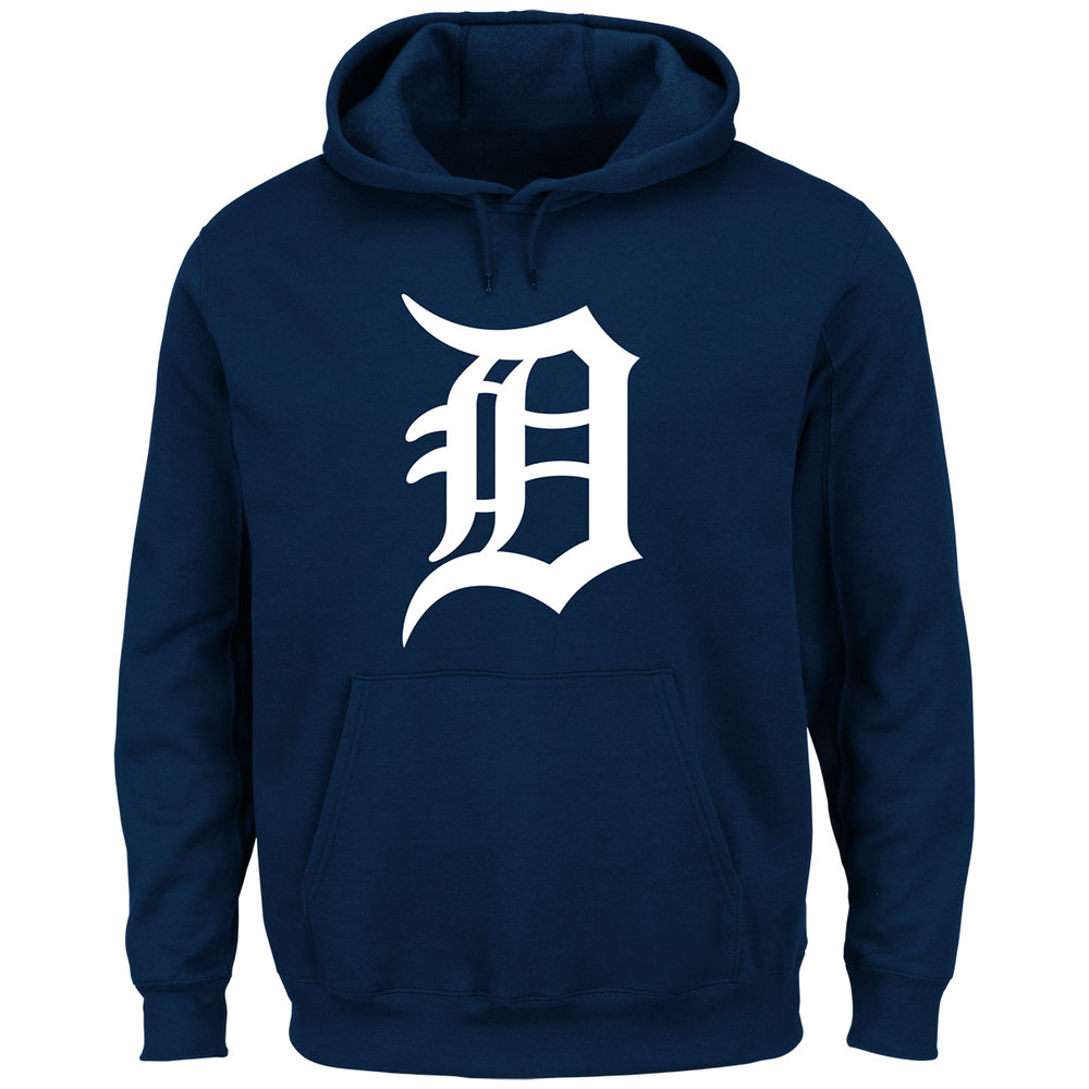 マジェスティック Majestic メンズ トップス パーカー【Detroit Tigers Adult Scoring Position Hoodie】Navy