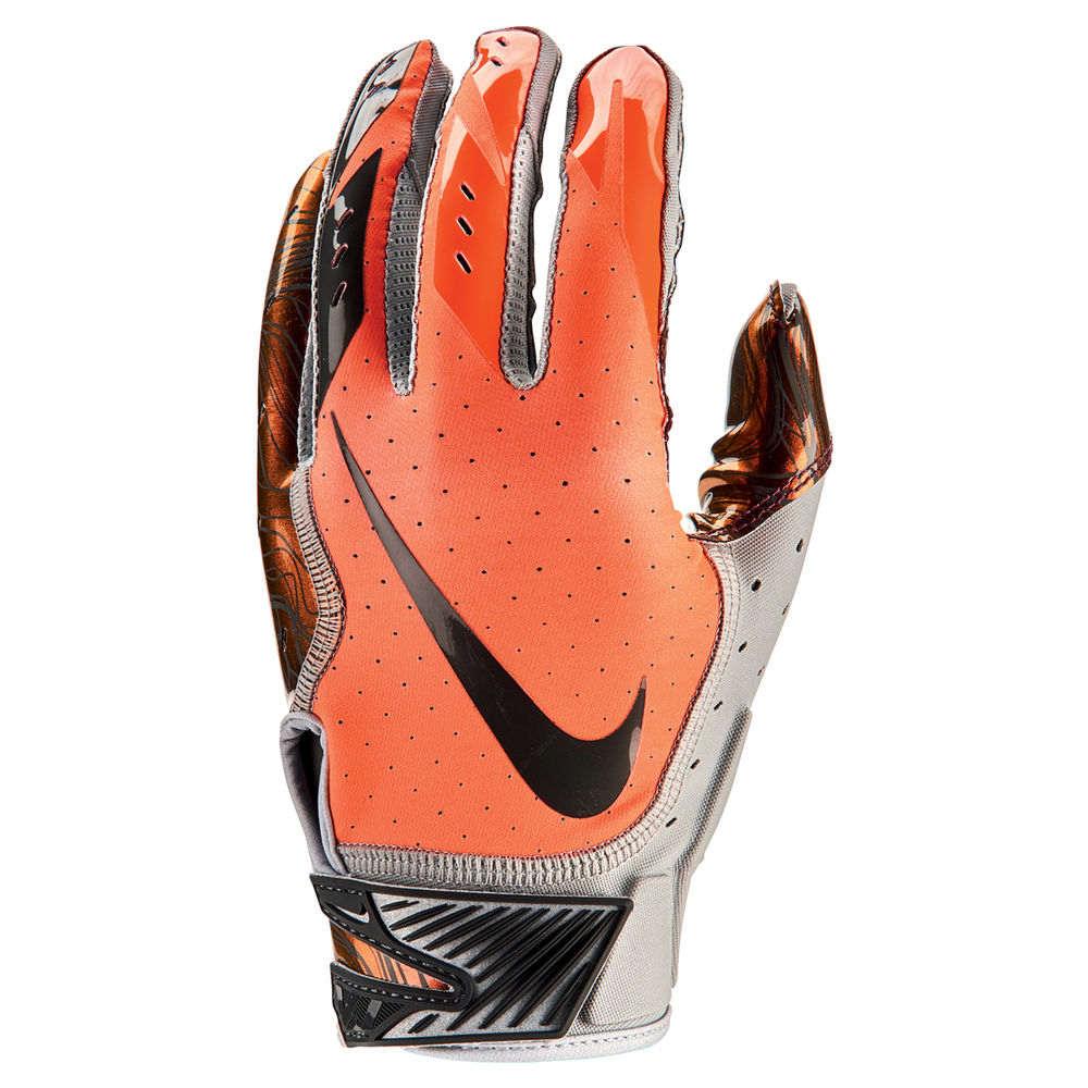 ナイキ Nike ユニセックス アメリカンフットボール グローブ【Vapor Jet Adult Football Glove】Orange