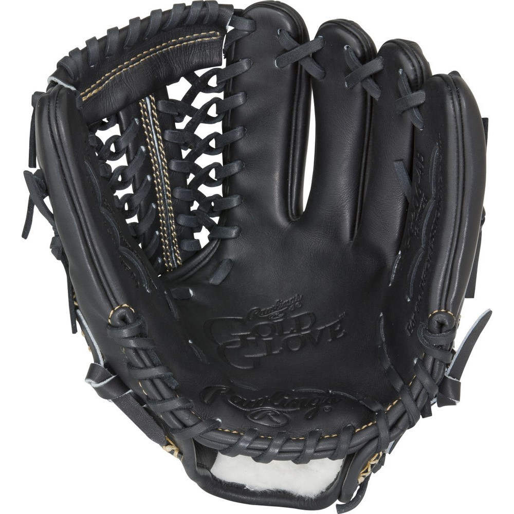 ローリングス Rawlings ユニセックス 野球 グローブ【Gold Glove Series 12 Inch Right Hand Throw Baseball Glove】Black