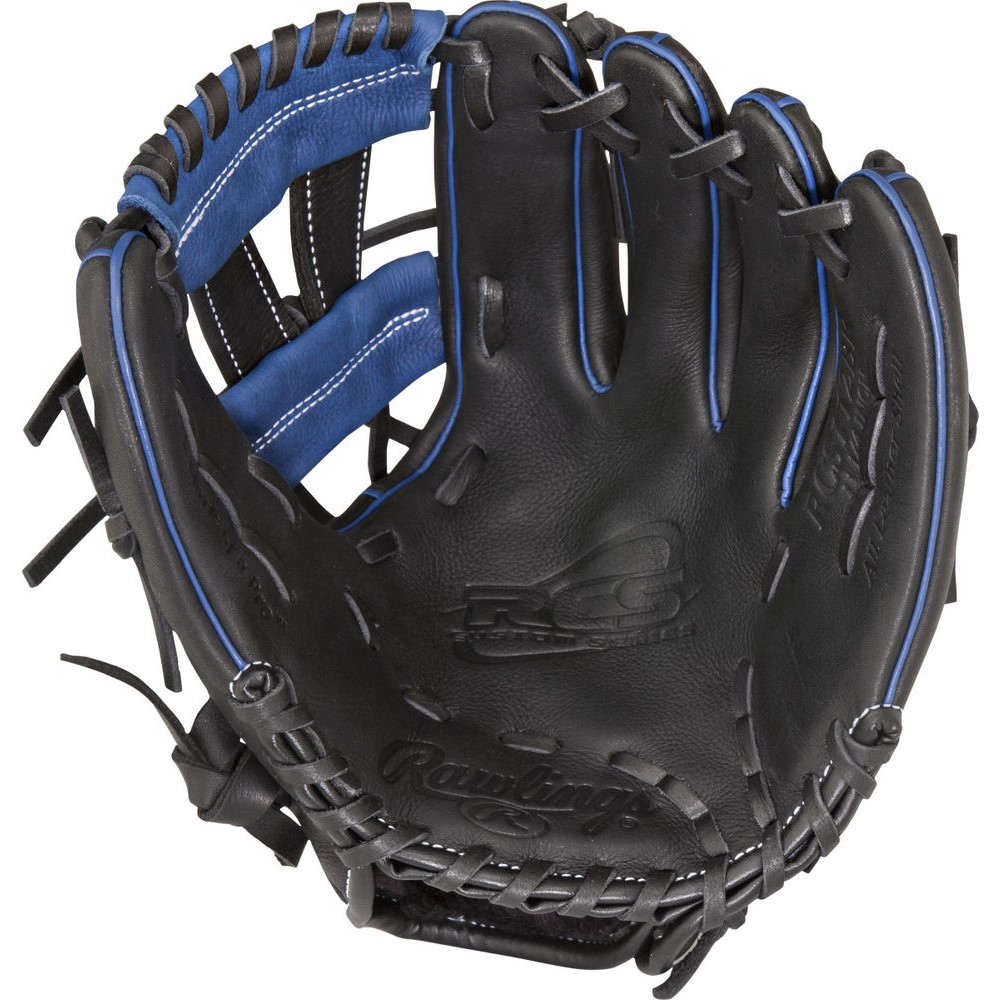ローリングス Rawlings ユニセックス 野球 グローブ【RCS Series 11.15 Inch Right Hand Throw Baseball Glove】Black/Blue