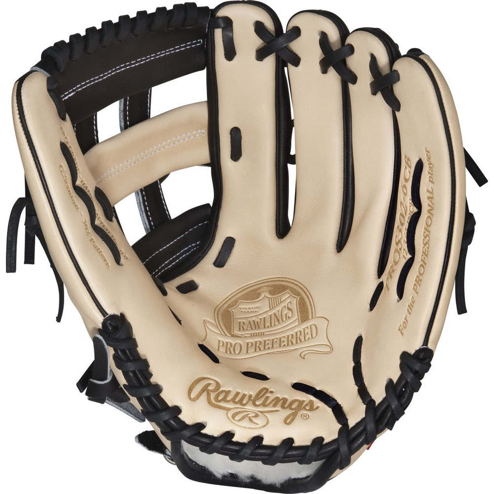 ローリングス Rawlings ユニセックス 野球 グローブ【Pro Preferred Series 12.75 Inch Right Hand Throw Baseball Glove】Black