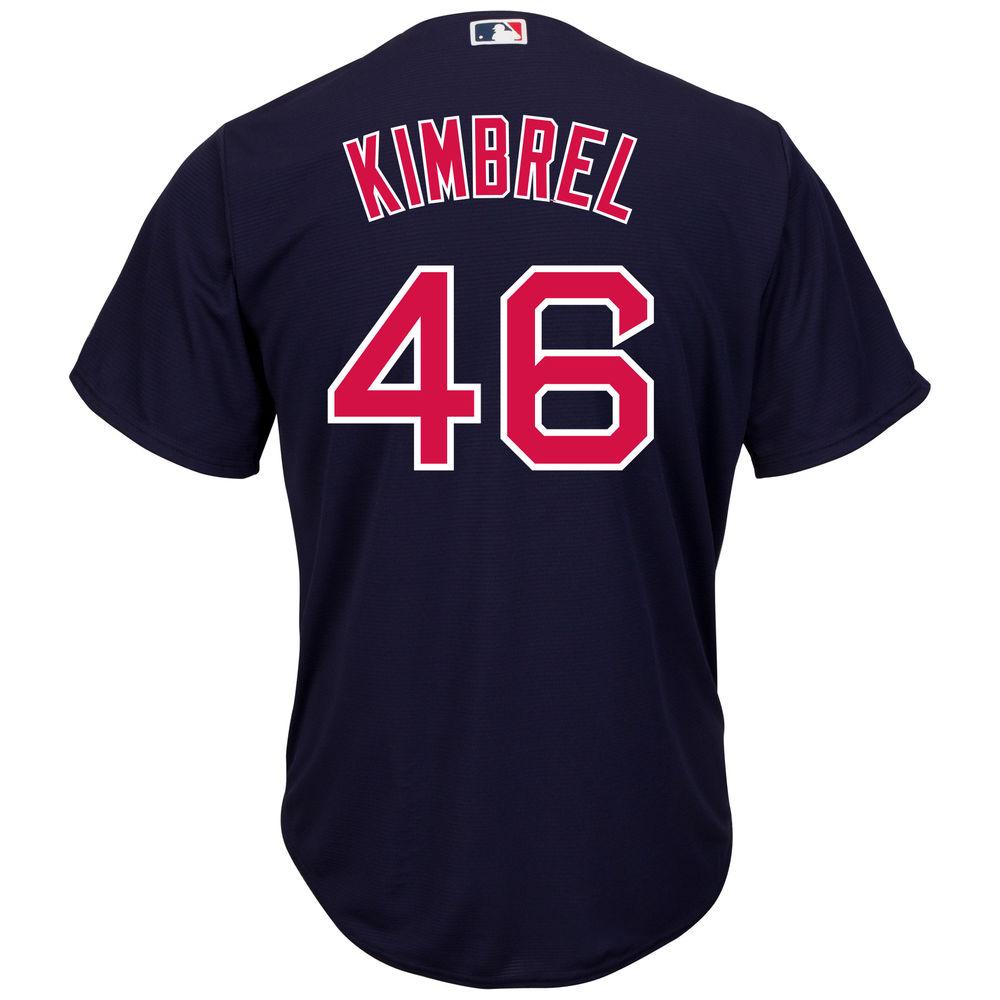 マジェスティック Majestic メンズ トップス【Boston Red Sox Craig Kimbrel Cool Base Jersey】Navy