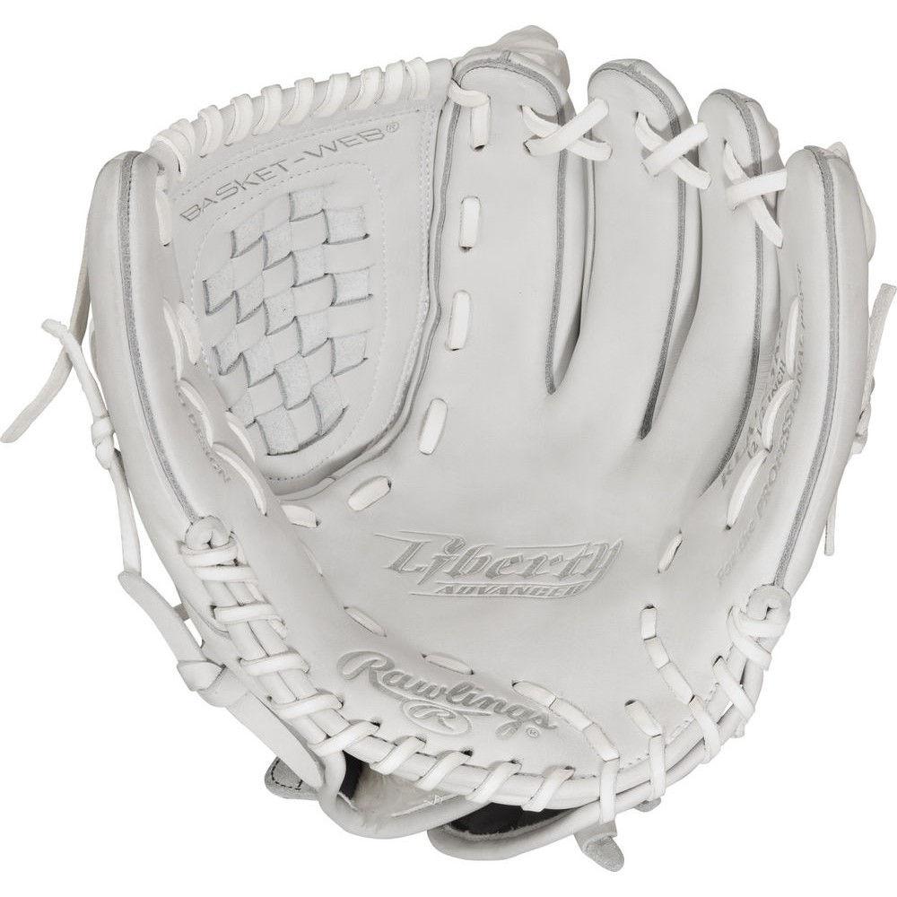 独特の上品 ローリングス 野球 Rawlings ローリングス ユニセックス 野球 グローブ Hand【Liberty Advanced 12.5 Inch Right Hand Throw Softball Glove】White, 結婚還暦お祝にマイフィギュア:3e992eb5 --- wedding-soramame.yutaka-na-jinsei.com