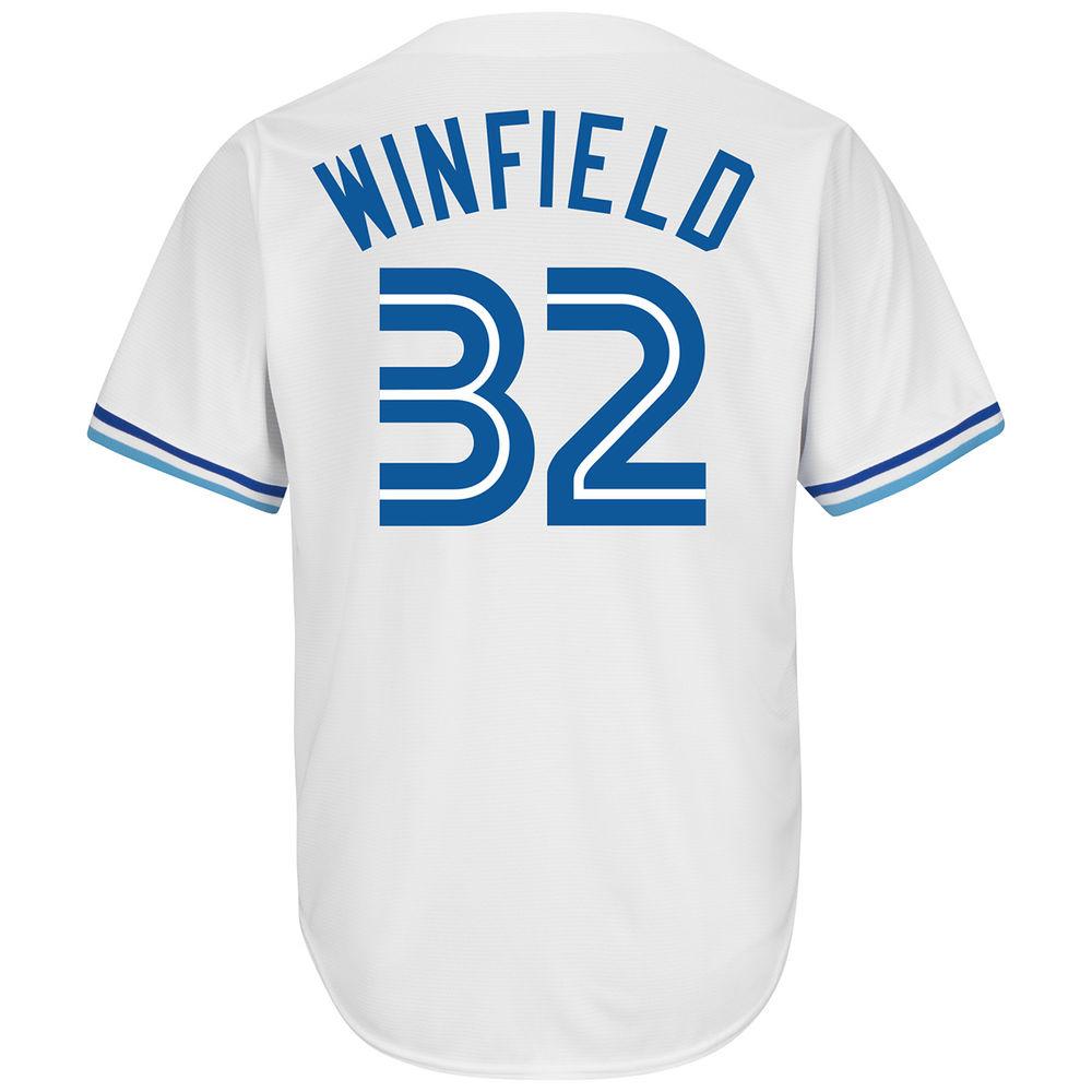 マジェスティック Majestic メンズ トップス【Toronto Blue Jays Adult Dave Winfield Cooperstown Collection Jersey】