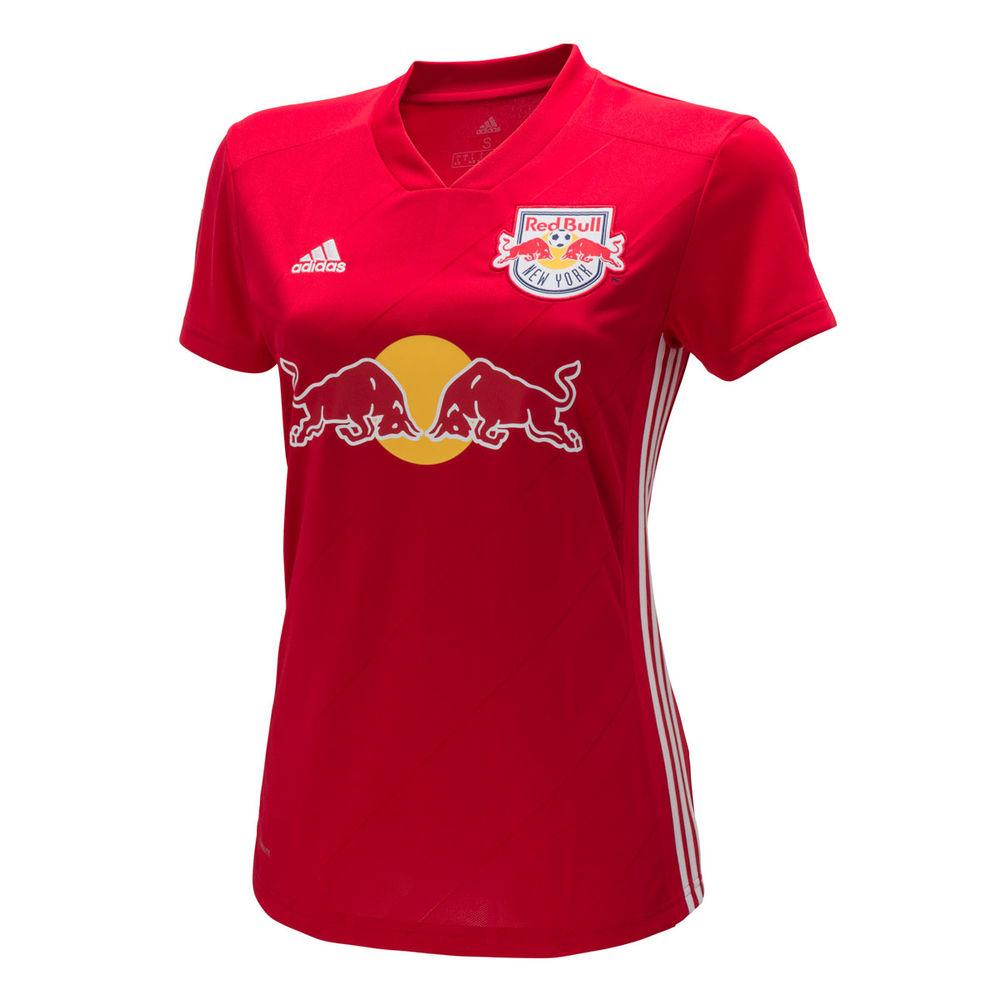 アディダス adidas レディース サッカー トップス【New York Red Bulls 2018 Replica Away Jersey】Red