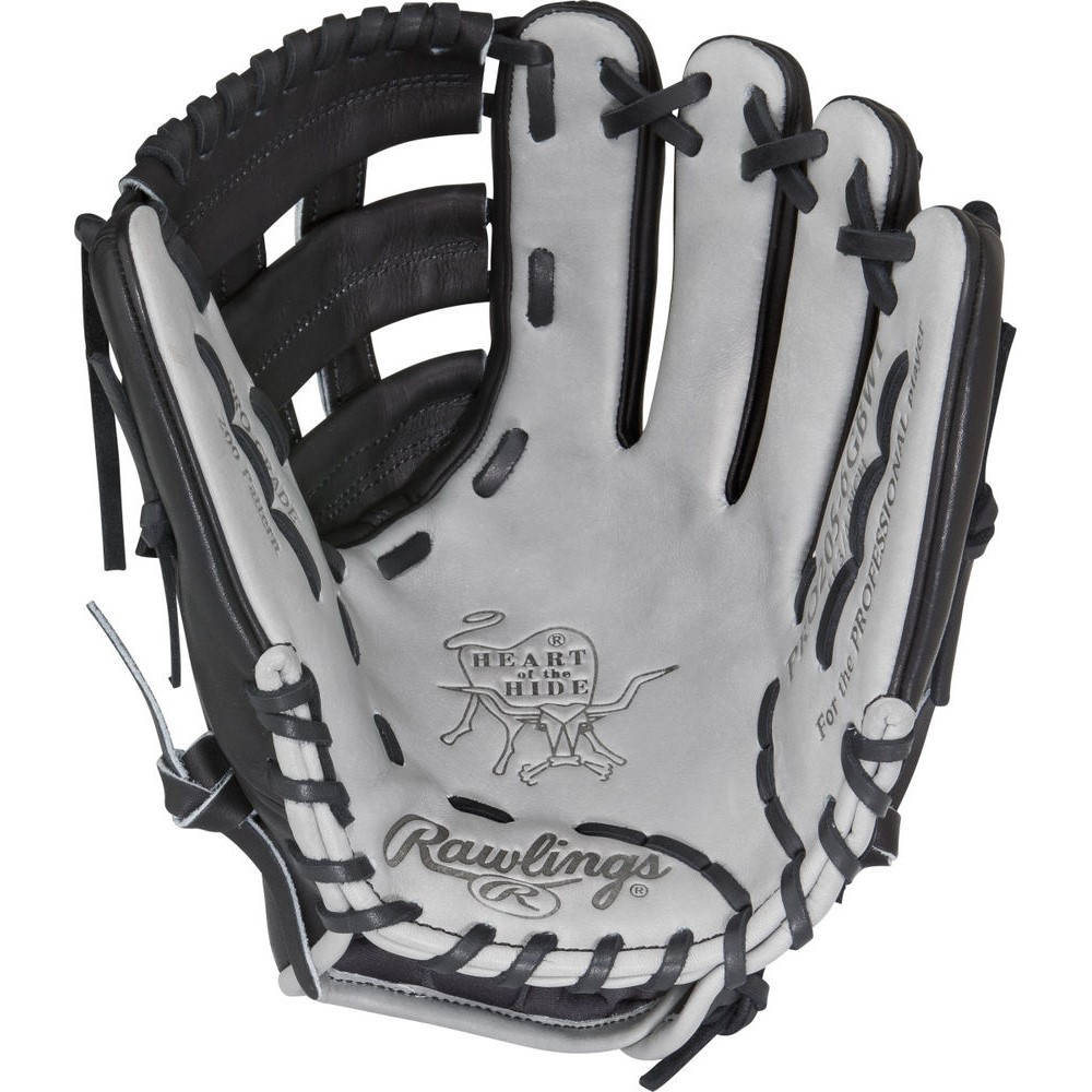 ローリングス Rawlings ユニセックス 野球 グローブ【Heart of the Hide Series 11.75 Inch Right Hand Throw Baseball Glove】Black