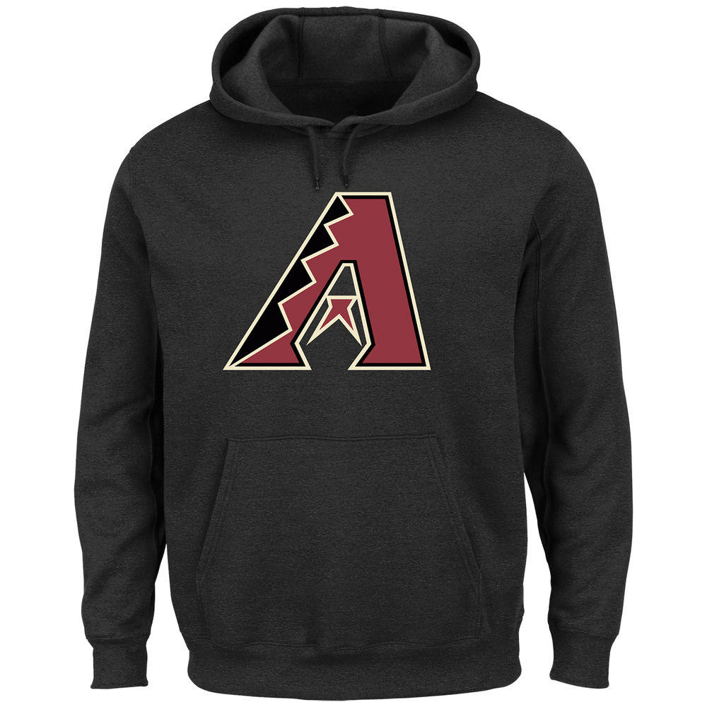 マジェスティック Majestic メンズ トップス パーカー【Arizona Diamondbacks Adult Scoring Position Hoodie】Black