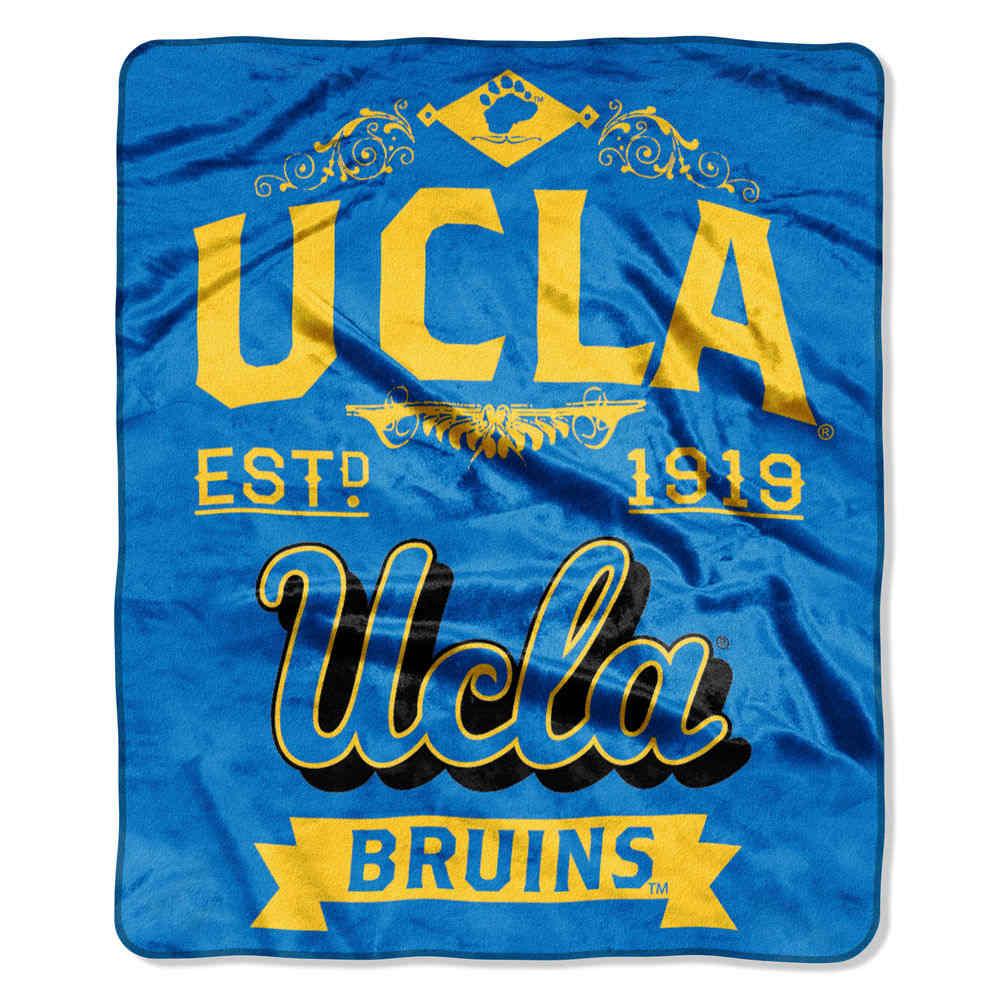 ノースウエスト Northwest ユニセックス マフラー・スカーフ・ストール【UCLA Bruins Label Raschel Throw】
