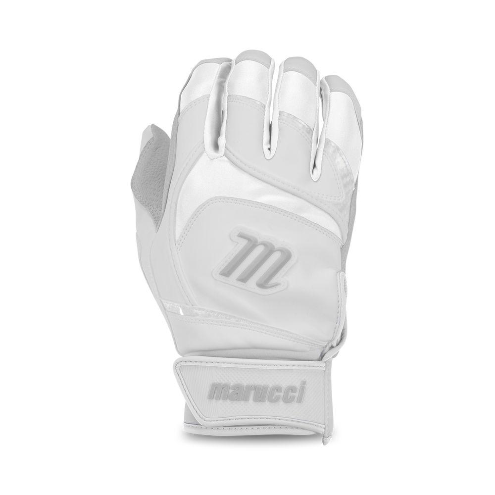 マルッチ Marucci ユニセックス 野球 グローブ【Adult Signature Series Baseball Batting Gloves】White/White