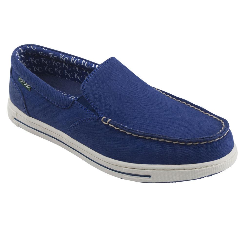 イーストランド Eastland メンズ シューズ・靴 デッキシューズ【Surf Kansas City Royals Boat Shoe】Navy