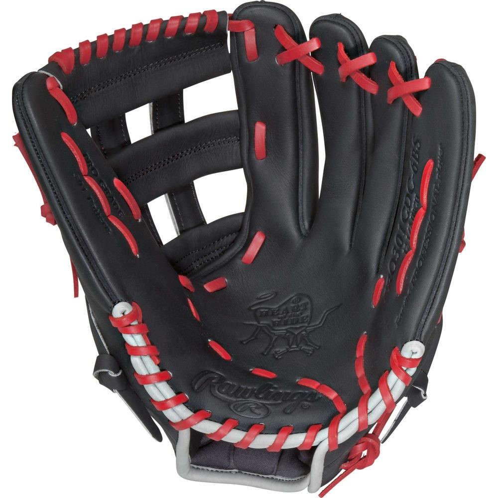 ローリングス Rawlings ユニセックス 野球 グローブ【Heart of the Hide Series 12.5 Inch Right Hand Throw Baseball Glove】Black
