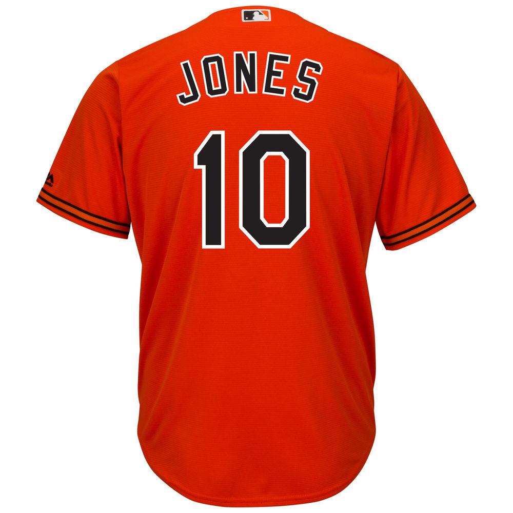 マジェスティック Majestic メンズ トップス【Baltimore Orioles Adult Adam Jones Cool Base Jersey】Orange