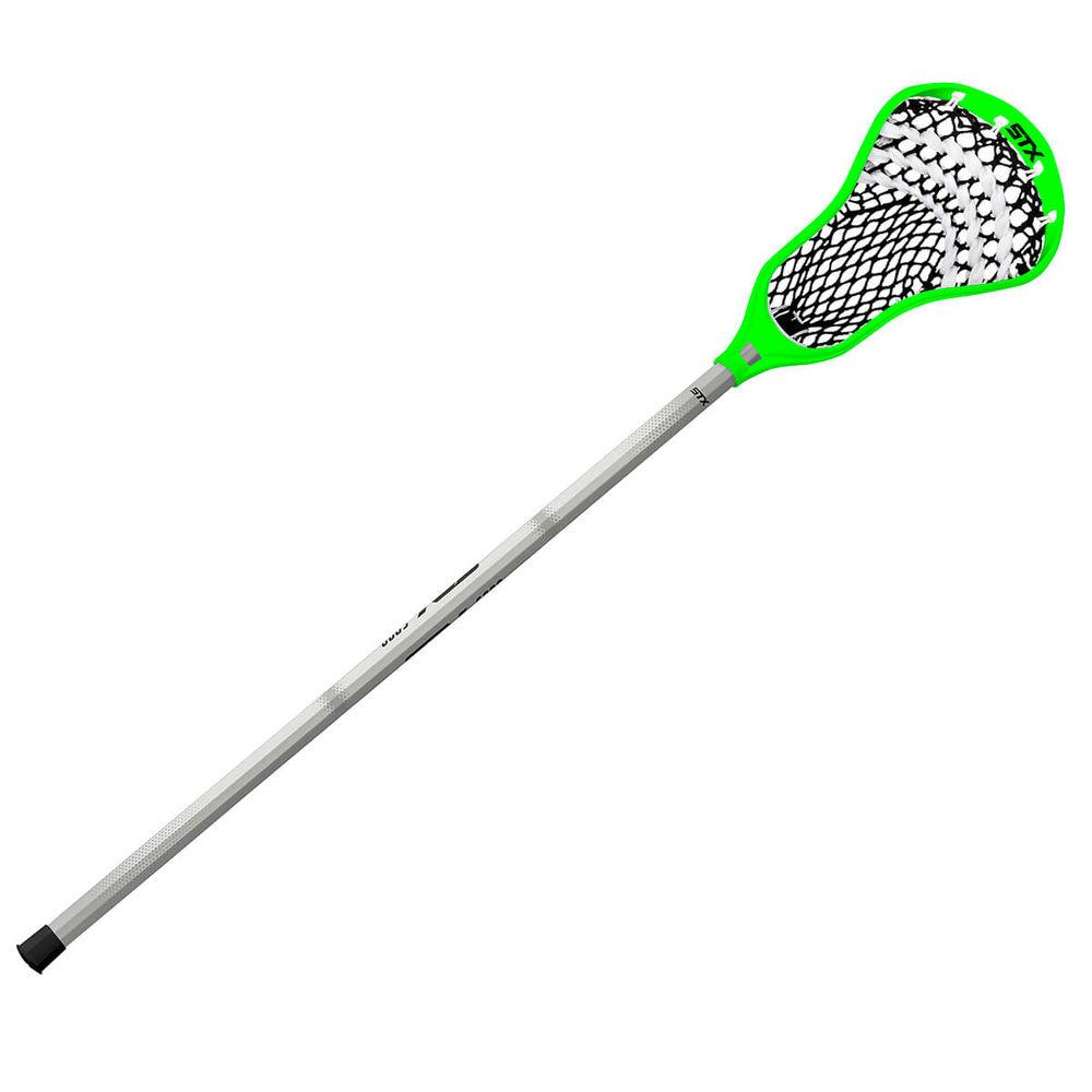 エスティーエックス STX ユニセックス ラクロス クロス【Stallion 200 A/M Complete Lacrosse Stick】White