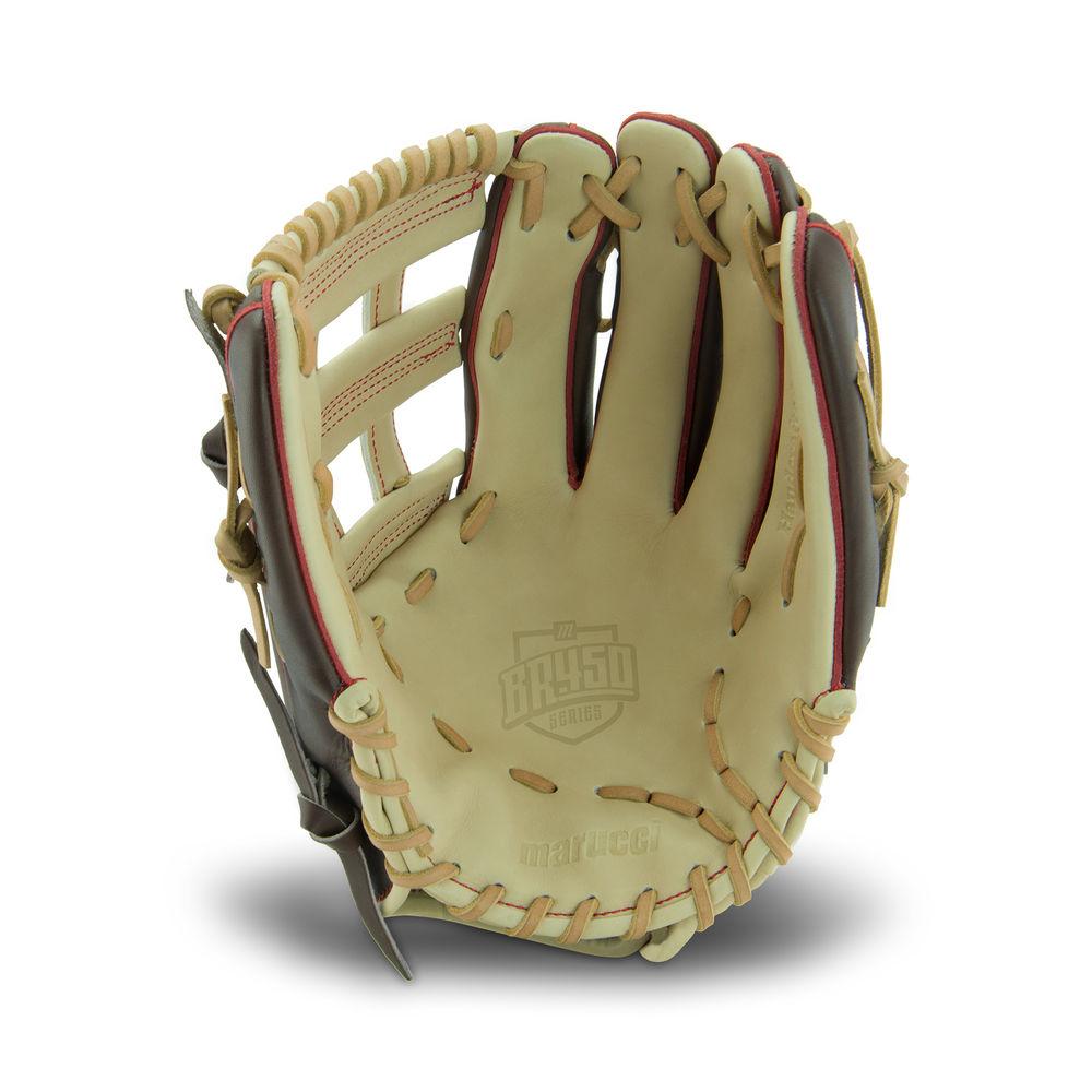 【楽天ランキング1位】 マルッチ Marucci 12.5 450 ユニセックス 野球 グローブ Marucci【BR 450 12.5 Inch Baseball Glove】Brown, 快眠ひろば:0118fe3a --- anigeroman.xyz