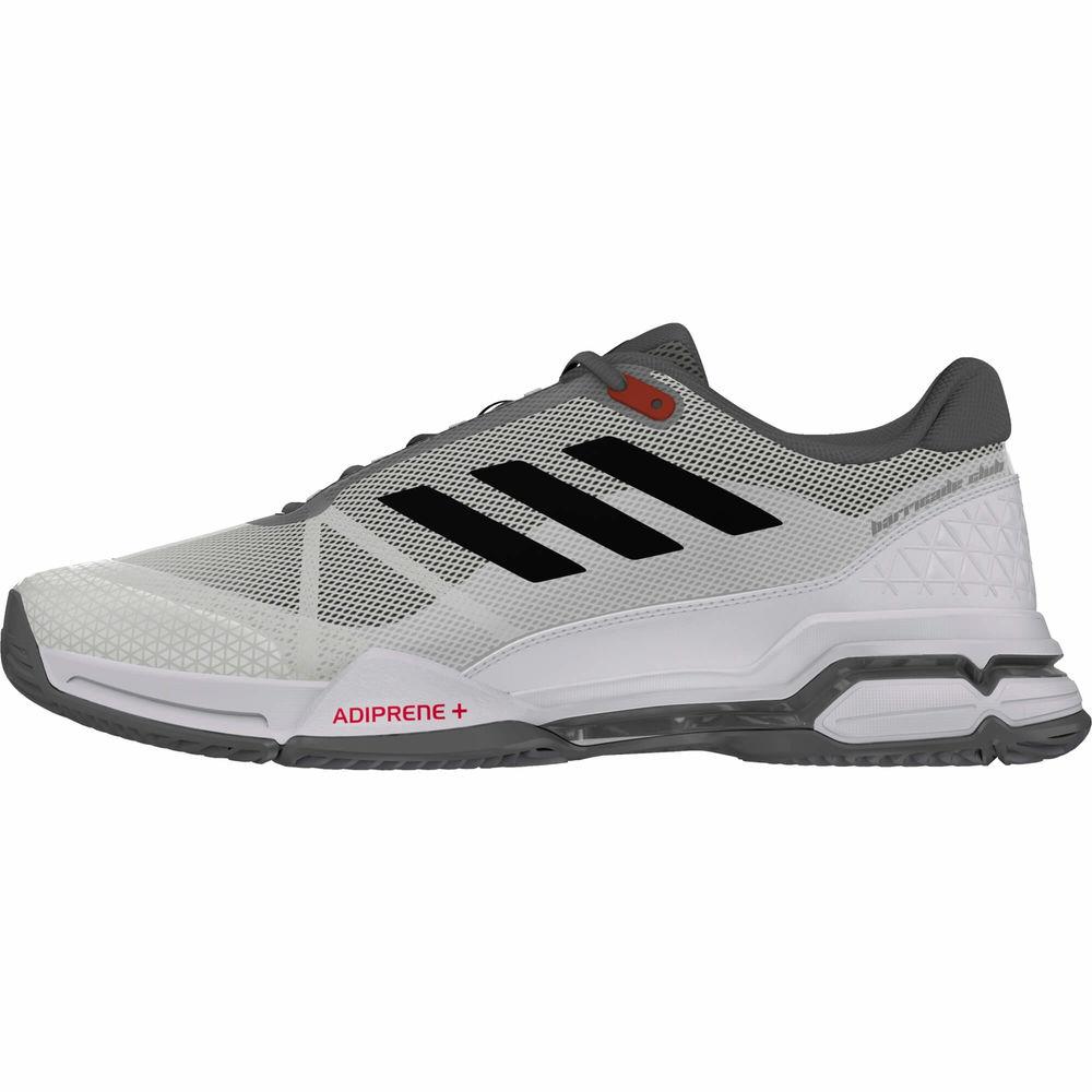 アディダス adidas メンズ テニス シューズ・靴【Barricade Club Tennis Shoes】White/Black