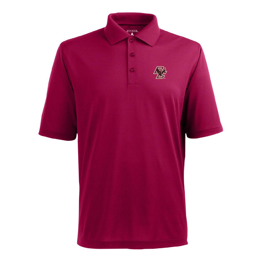 アンティグア Antigua メンズ トップス ポロシャツ【Boston College Eagles Pique Xtra Lite Polo】Cardinal
