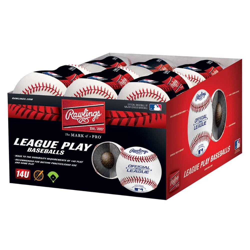ローリングス Rawlings ユニセックス 野球 ボール【14U Official League 12-Pack Baseballs】