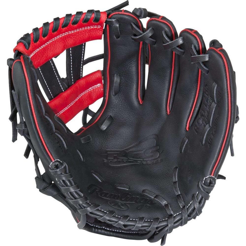 【楽ギフ_のし宛書】 ローリングス Rawlings Baseball ユニセックス Series 野球 グローブ Rawlings【RCS Series 11.25 Inch Right Hand Throw Baseball Glove】Black/Red, XYZ車高調 XYZ-JAPAN:74872608 --- hortafacil.dominiotemporario.com