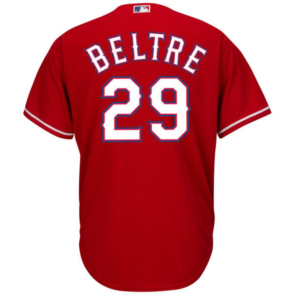 マジェスティック Majestic メンズ トップス【Texas Rangers Adrian Beltre Adult Cool Base Replica Jersey】Royal