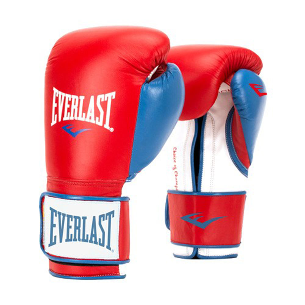 エバーラスト Everlast ユニセックス グローブ【16 Ounce Powerlock Boxing Gloves】Red/Blue