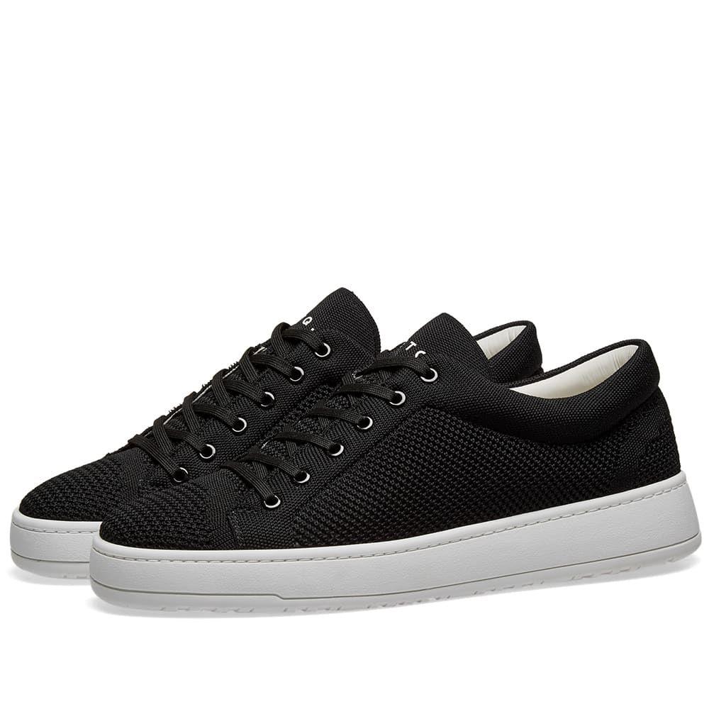ETQ ETQ. Amsterdam メンズ シューズ・靴 スニーカー【ETQ. Low Top 1 Knitted Sneaker】Black