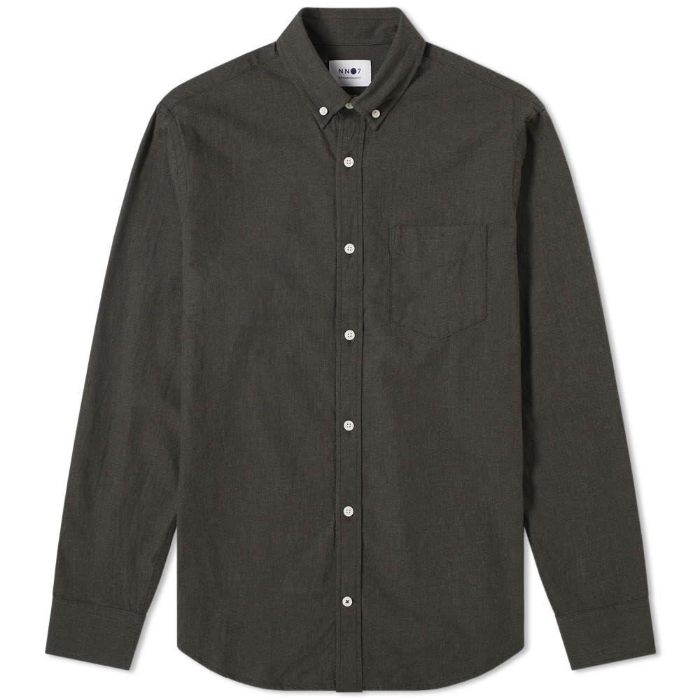 NN07 メンズ シャツ フランネルシャツ トップス【levon flannel shirt】Dark Army