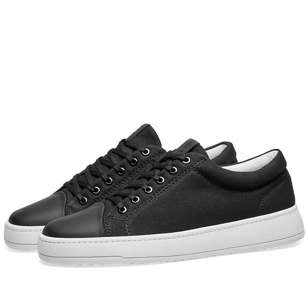 ETQ ETQ. Amsterdam メンズ シューズ・靴 スニーカー【ETQ. Low Top 1 Kurashiki Canvas Sneaker】Black