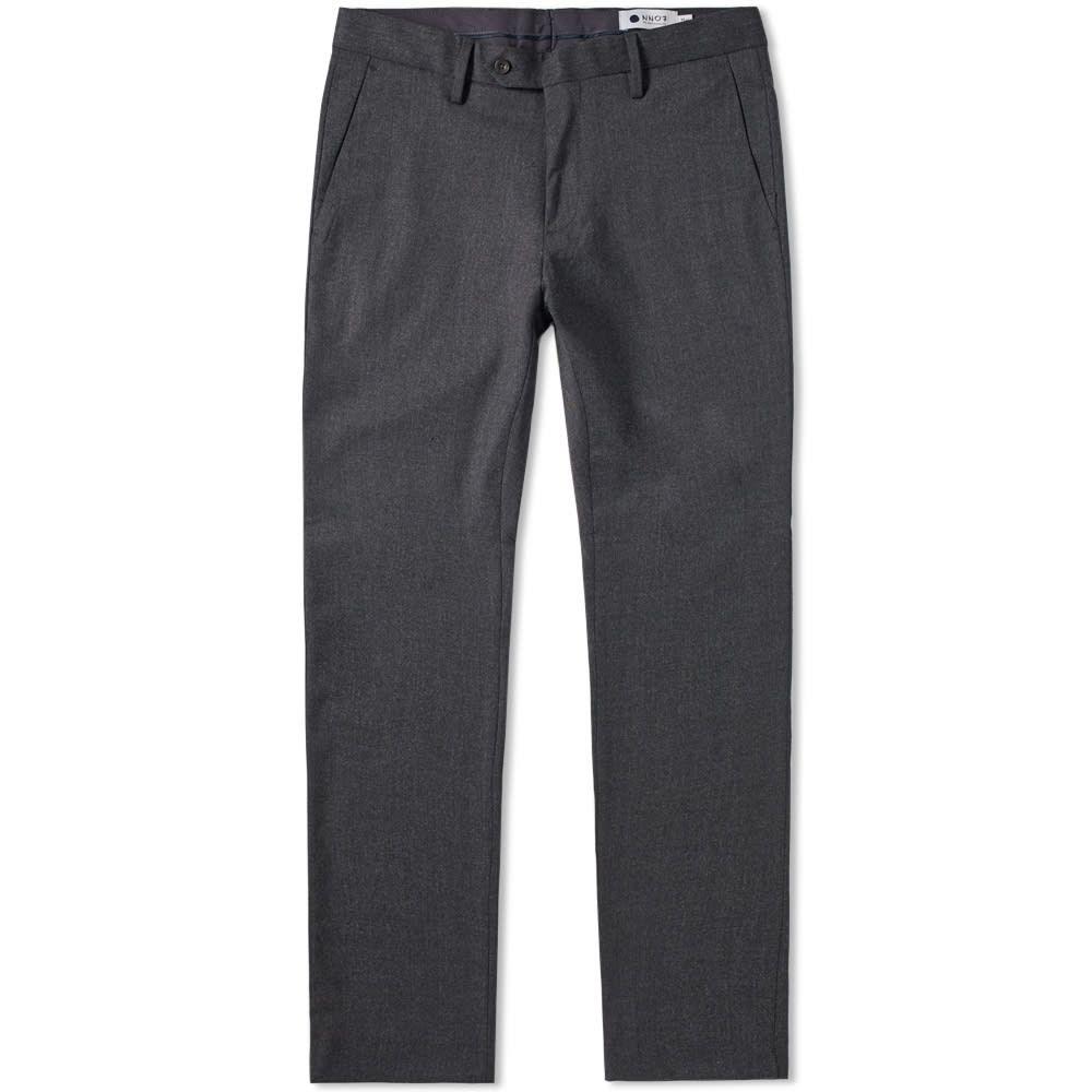 NN07 メンズ スキニー・スリム ボトムス・パンツ【new theo slim trouser】Dark Grey