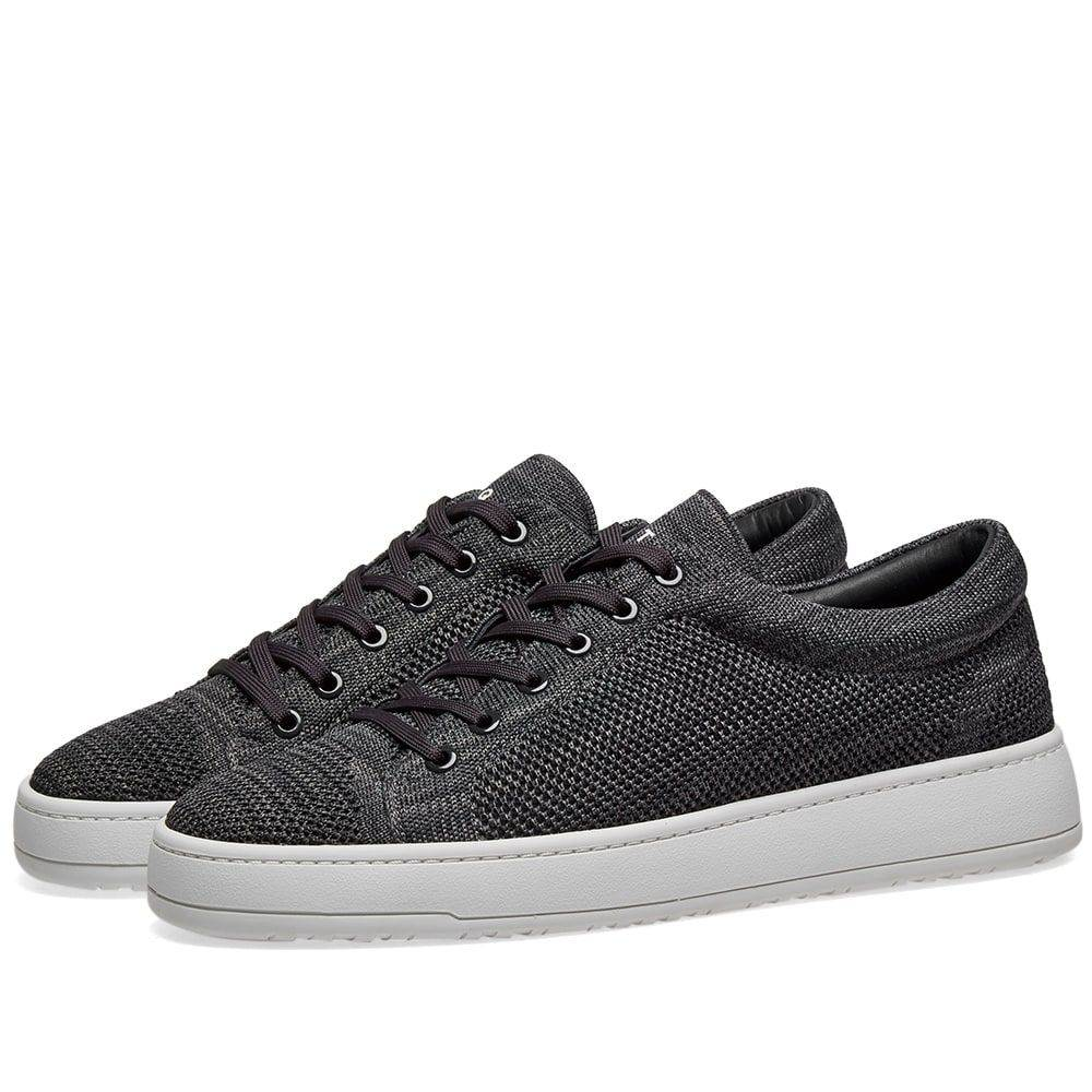 ETQ ETQ. Amsterdam メンズ シューズ・靴 スニーカー【ETQ. Low Top 1 Knitted Sneaker】Charcoal