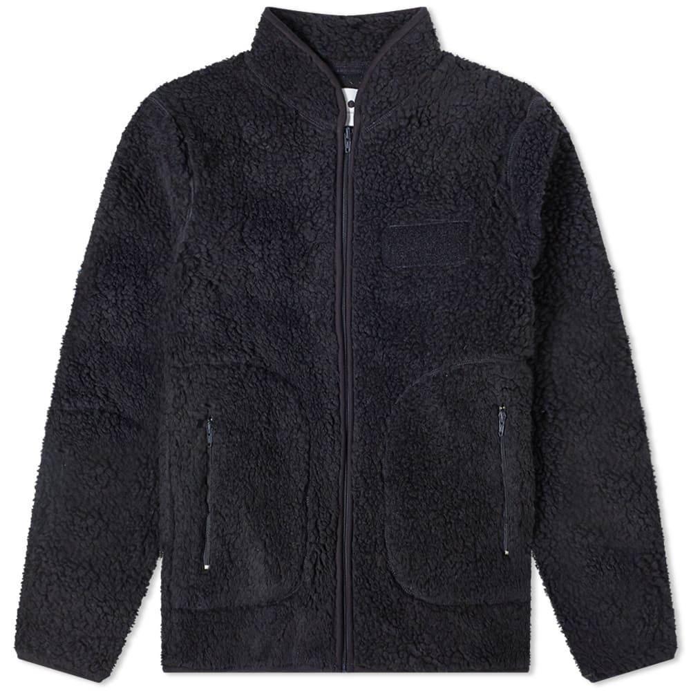 NN07 メンズ フリース トップス【mort sherpa fleece jacket】Navy