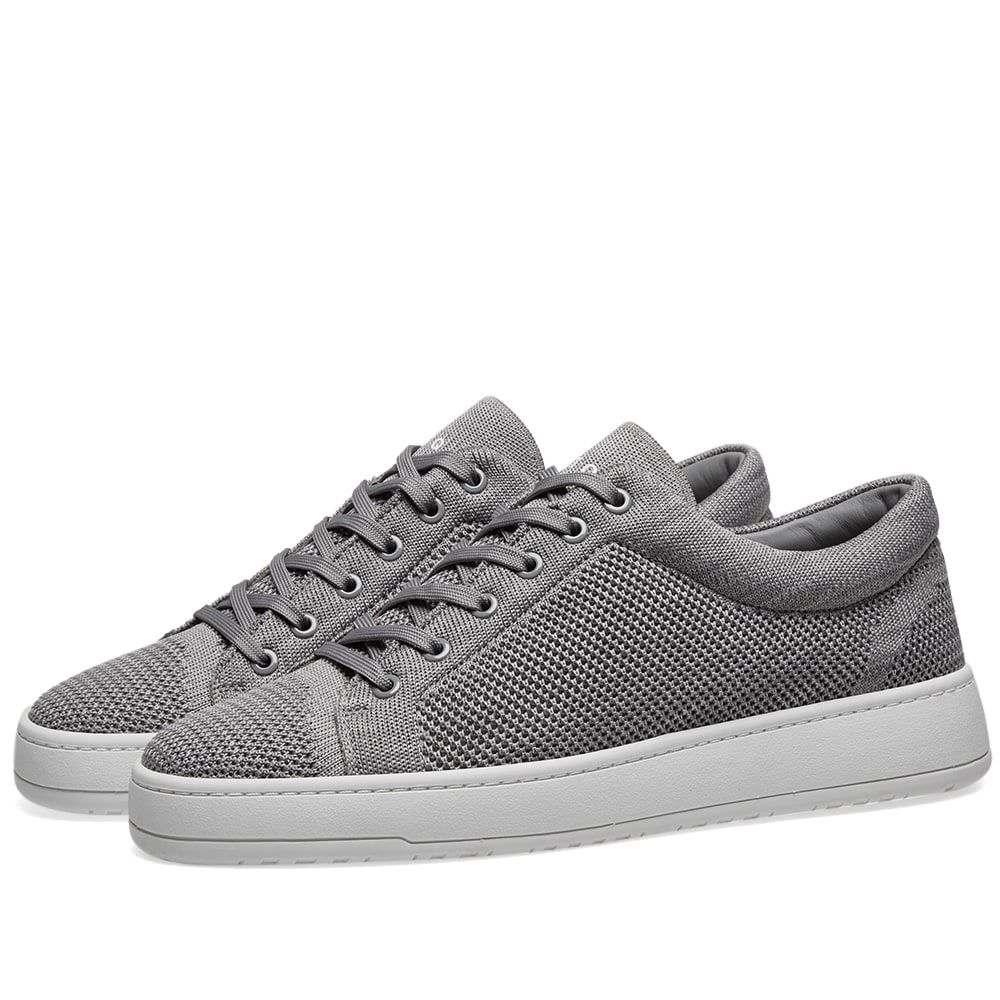 ETQ ETQ. Amsterdam メンズ シューズ・靴 スニーカー【ETQ. Low Top 1 Knitted Sneaker】Alloy