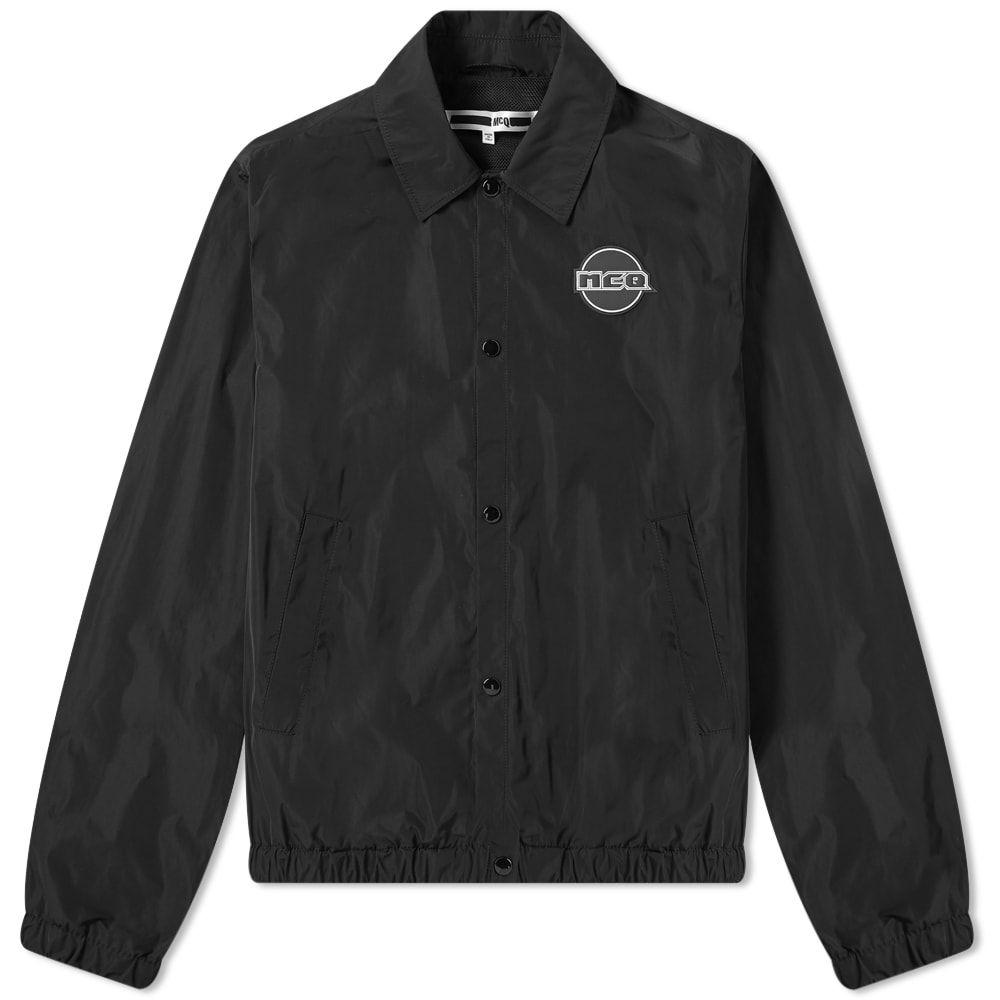 アレキサンダー マックイーン McQ Alexander McQueen メンズ ジャケット コーチジャケット アウター【logo coach jacket】Darkest Black