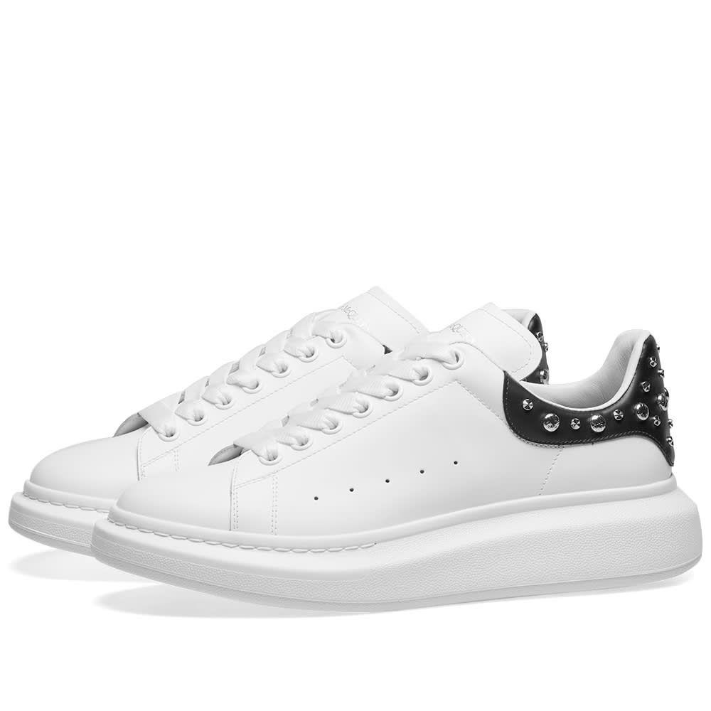 アレキサンダー マックイーン Alexander McQueen メンズ シューズ・靴 スニーカー【Studded Wedge Sole Sneaker】White/Black