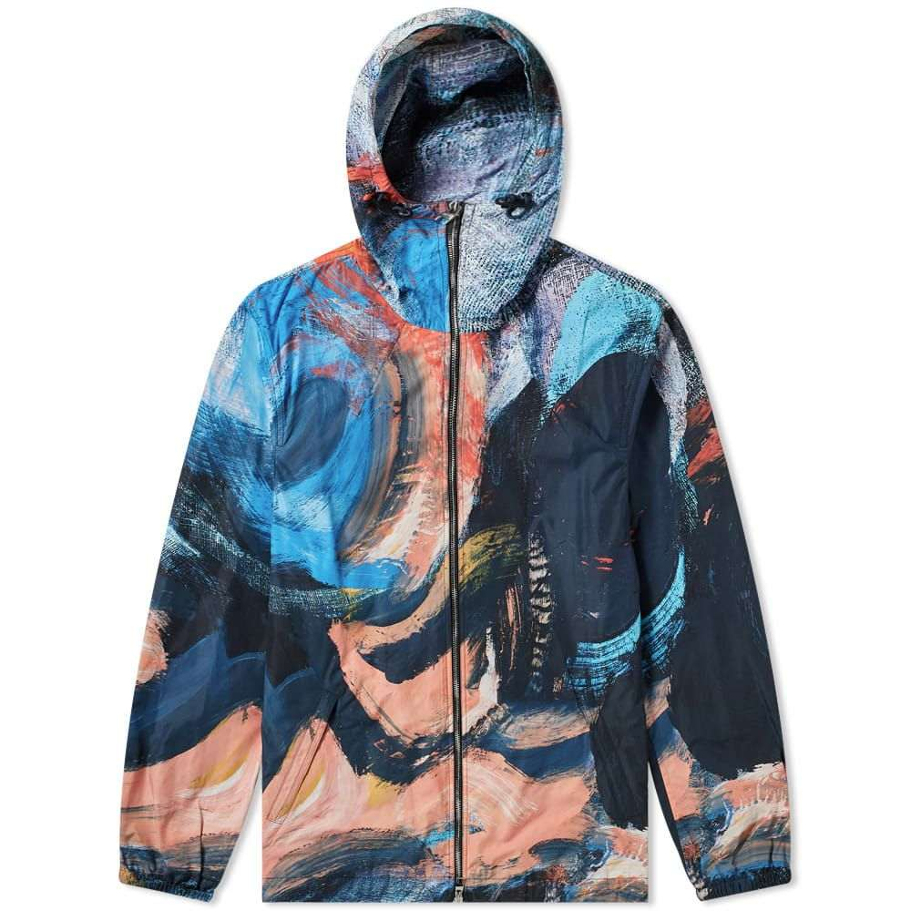 アレキサンダー マックイーン Alexander McQueen メンズ ジャケット アウター【brush strokes zip jacket】Mix Colour