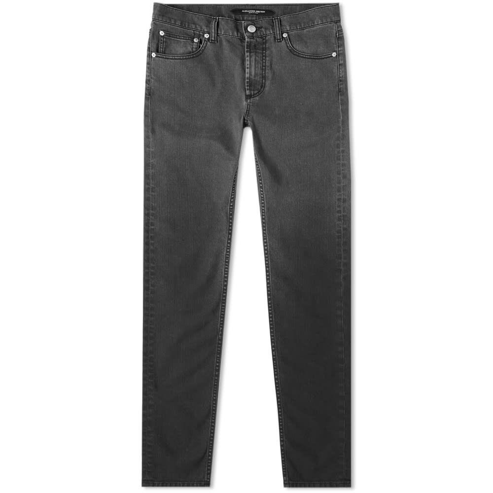 アレキサンダー マックイーン Alexander McQueen メンズ ジーンズ・デニム ボトムス・パンツ【pocket slim jean】Grey
