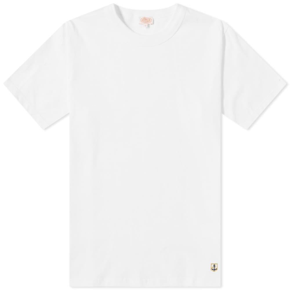 アルモーリュックス Armor-Lux メンズ トップス Tシャツ【71990 Classic Tee】White