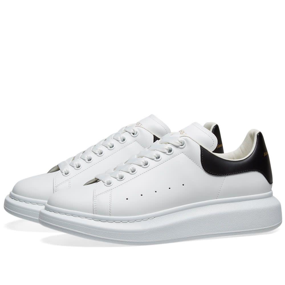 アレキサンダー マックイーン Alexander McQueen メンズ シューズ・靴 スニーカー【Heel Tab Wedge Sole Sneaker】White/Black