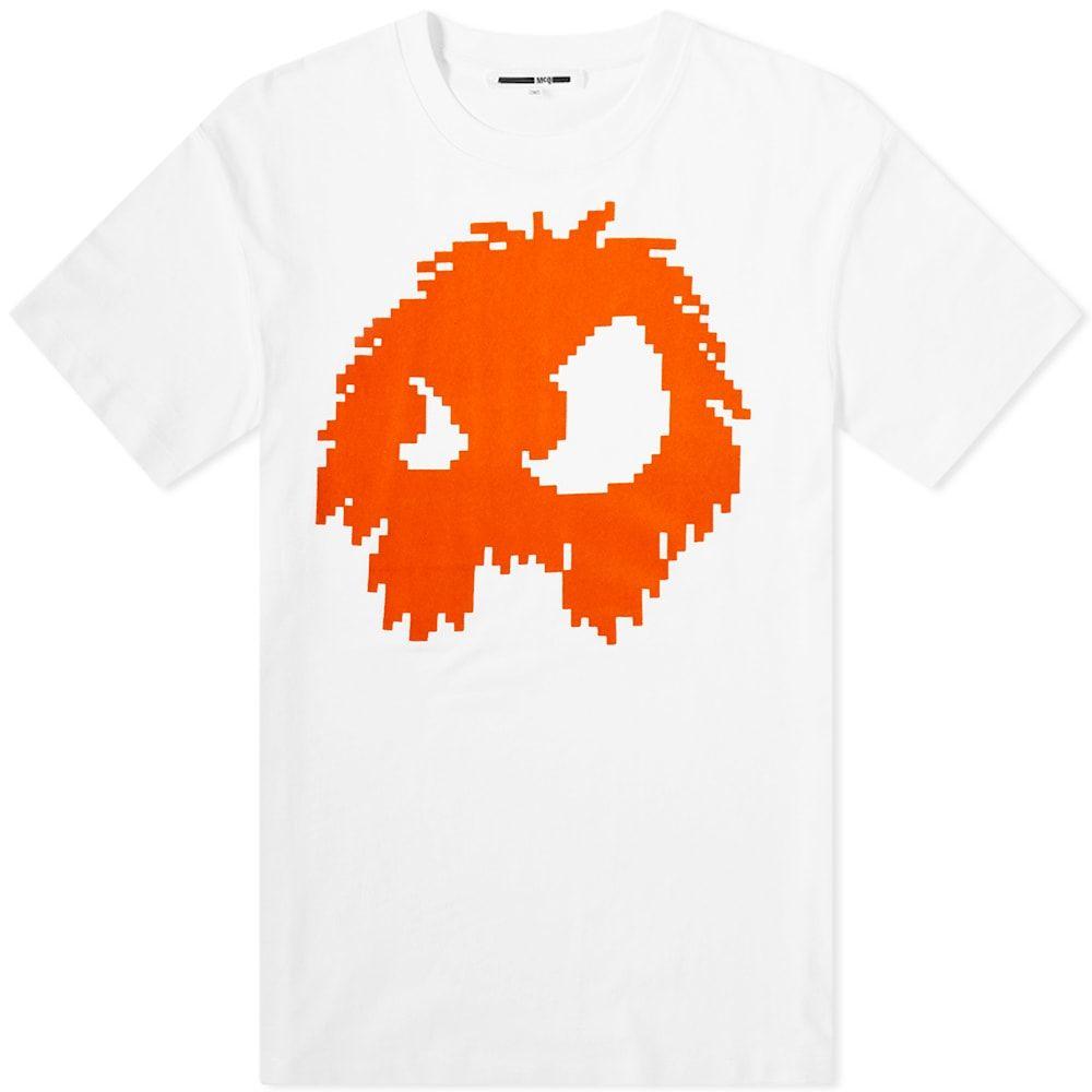 アレキサンダー マックイーン McQ Alexander McQueen メンズ Tシャツ トップス【pixelated monster tee】Optic White